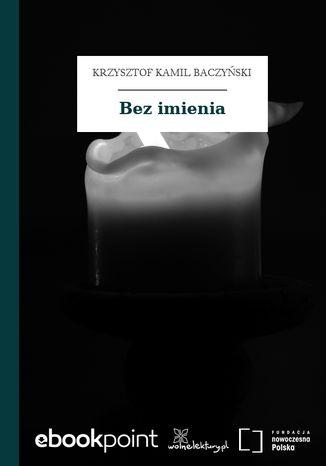 Okładka książki/ebooka Bez imienia