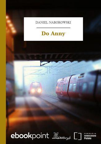 Okładka książki/ebooka Do Anny