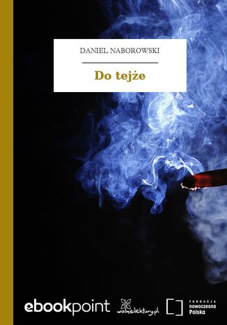 Ebook Do tejże