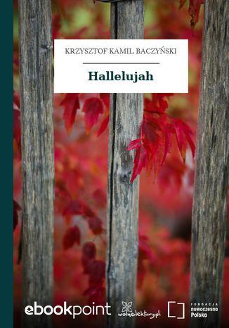 Okładka książki Hallelujah