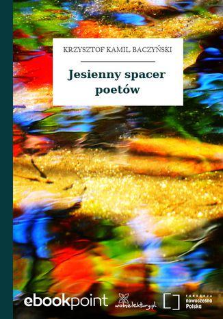 Okładka książki Jesienny spacer poetów