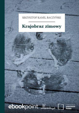 Okładka książki Krajobraz zimowy