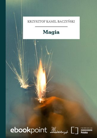 Okładka książki Magia