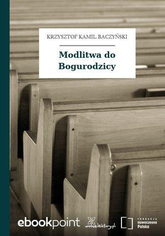 Okładka książki/ebooka Modlitwa do Bogurodzicy