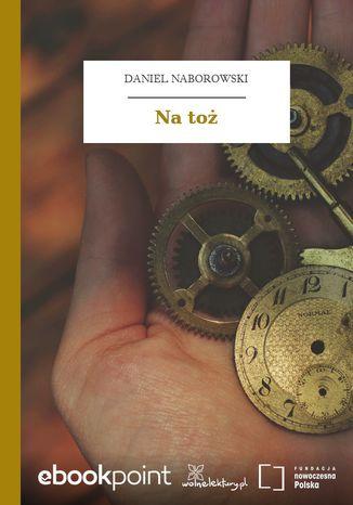 Okładka książki/ebooka Na toż