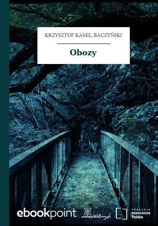 Okładka książki Obozy