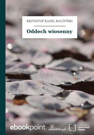 Okładka książki Oddech wiosenny