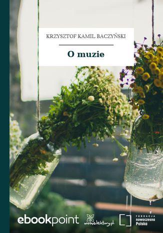 Okładka książki/ebooka O muzie