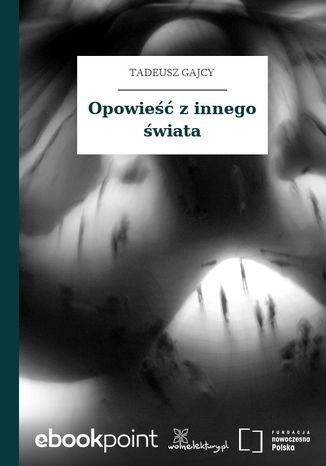 Okładka książki Opowieść z innego świata
