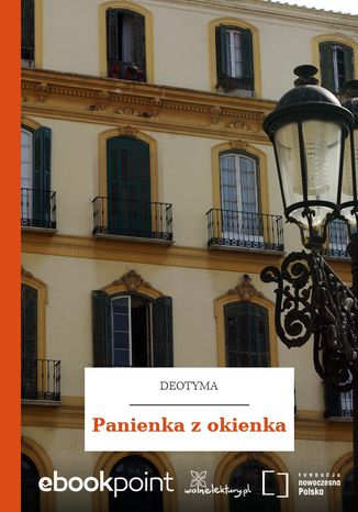 Okładka książki Panienka z okienka