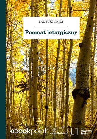 Okładka książki Poemat letargiczny