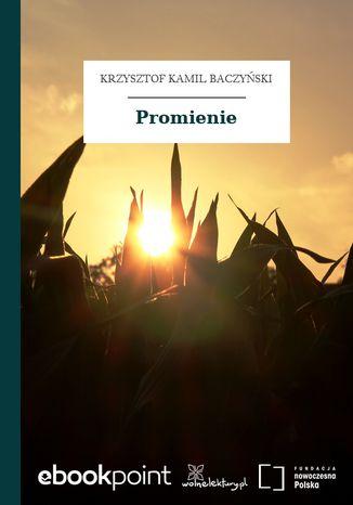 Okładka książki Promienie