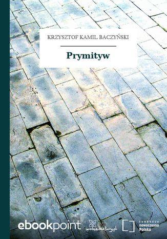 Okładka książki Prymityw