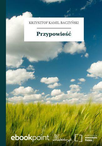 Okładka książki/ebooka Przypowieść