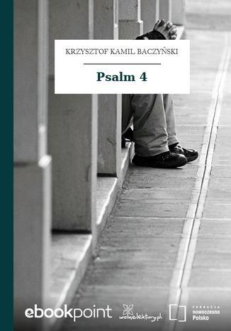 Okładka książki Psalm 4