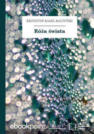 Okładka książki/ebooka Róża świata
