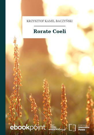 Okładka książki/ebooka Rorate Coeli