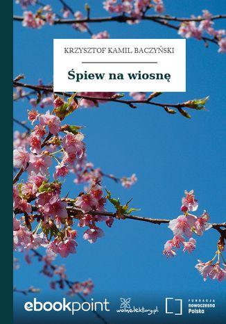 Okładka książki Śpiew na wiosnę