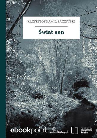 Okładka książki/ebooka Świat sen