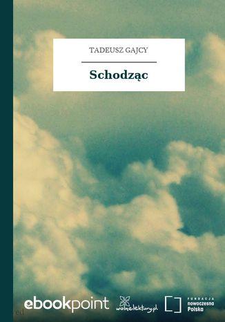 Okładka książki/ebooka Schodząc