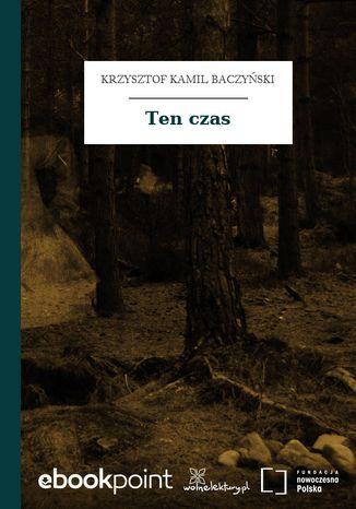 Okładka książki/ebooka Ten czas