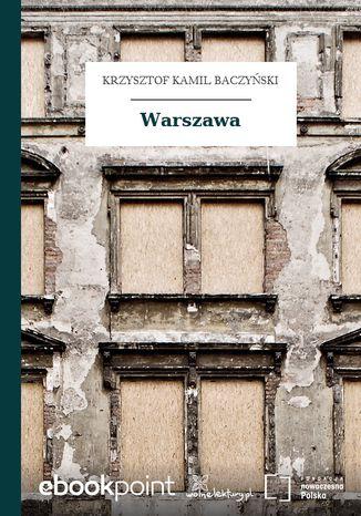 Okładka książki Warszawa