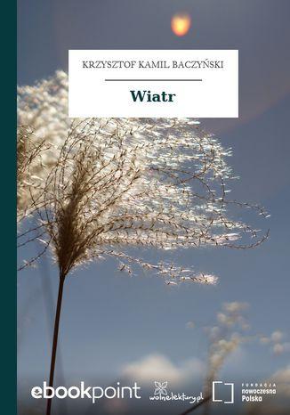Okładka książki Wiatr