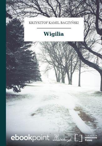 Okładka książki Wigilia