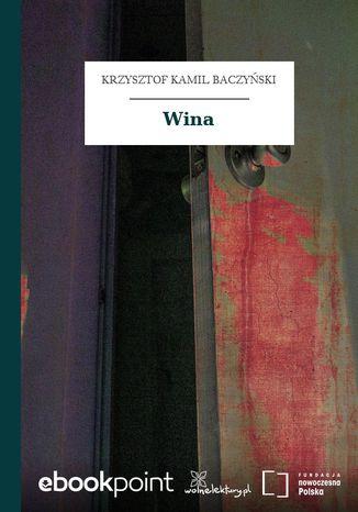 Okładka książki Wina