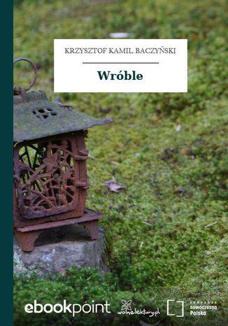 Okładka książki Wróble