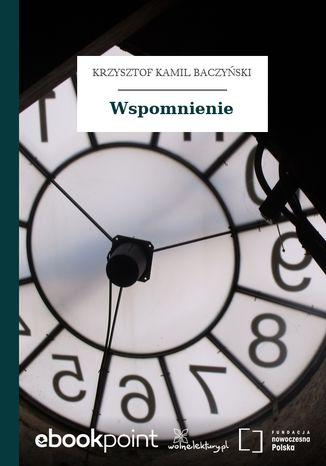 Okładka książki/ebooka Wspomnienie