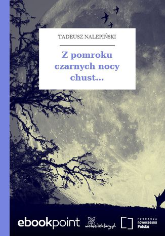 Okładka książki/ebooka Z pomroku czarnych nocy chust