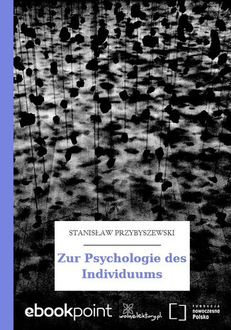 Ebook Zur Psychologie des Individuums