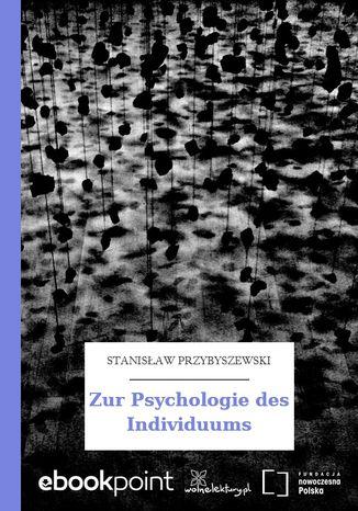 Okładka książki Zur Psychologie des Individuums