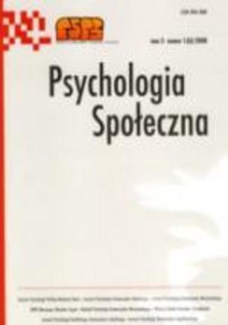 Psychologia Społeczna nr 1(6)/2008