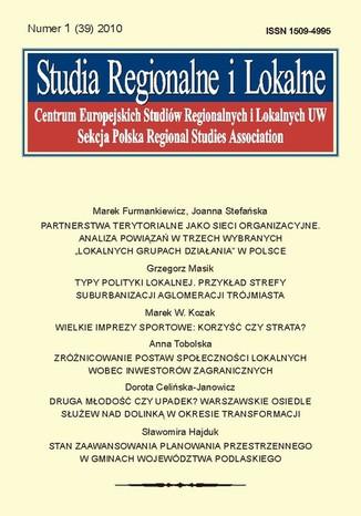Studia Regionalne i Lokalne nr 1(39)/2010