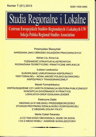 Studia Regionalne i Lokalne nr 1(51)/2013