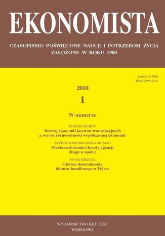 Ekonomista 2010 nr 1