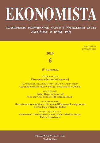 Okładka książki Ekonomista 2010 nr 6