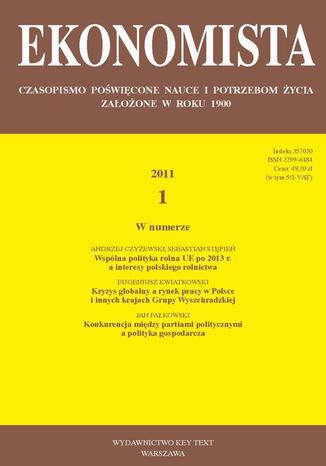 Ekonomista 2011 nr 1