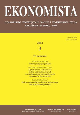 Ekonomista 2012 nr 3