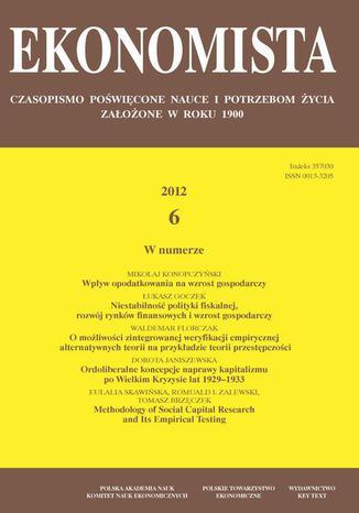 Ekonomista 2012 nr 6