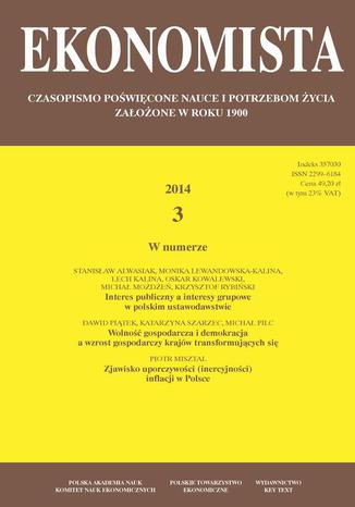 Ekonomista 2014 nr 3