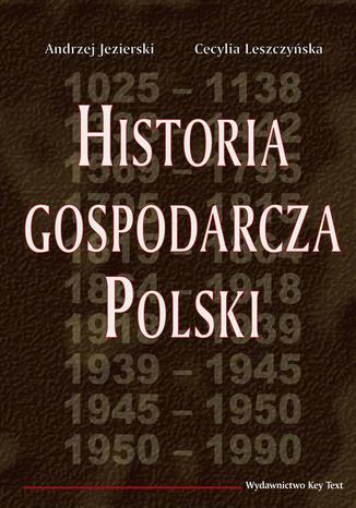 Okładka książki/ebooka Historia gospodarcza Polski