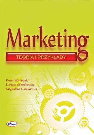 Okładka książki Marketing teoria i przykłady