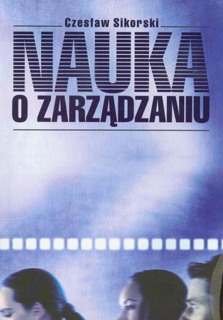 Okładka książki/ebooka Nauka o zarządzaniu