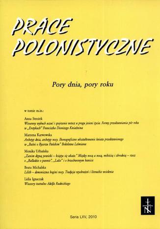Prace Polonistyczne t. 65/2010