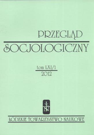 Przegląd Socjologiczny t. 61 z. 1/2012