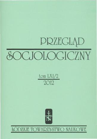 Przegląd Socjologiczny t. 61 z. 2/2012