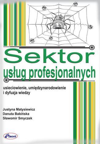 Okładka książki Sektor usług profesjonalnych